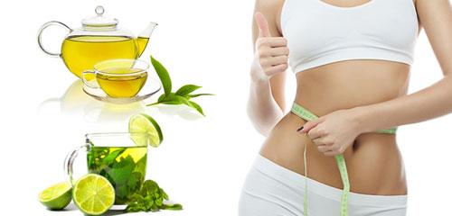 giảm cân hiệu quả với trà xanh